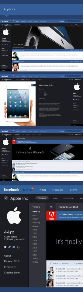 Keren, Tampilan Baru Facebook Yang Akan Datang | Cyber4rt.com